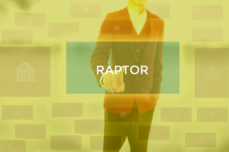 RAPTOR - technology and business concept 스톡 콘텐츠