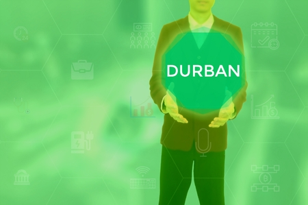DURBAN - technology and business concept