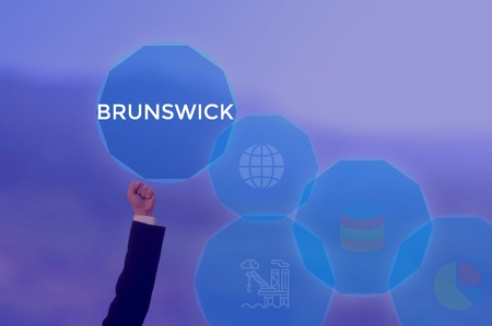 select BRUNSWICK - technology and business concept