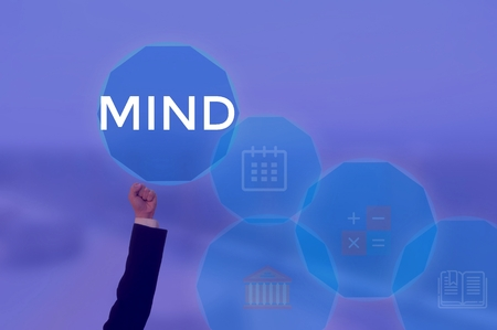 MIND - technology and business concept