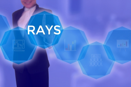 RAYS - technology and business concept
