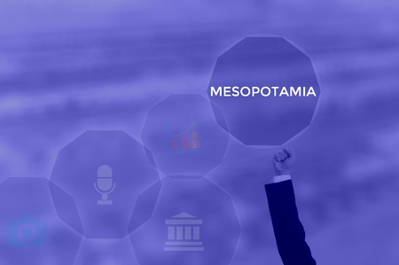 MESOPOTAMIA - technology and business concept Stock Photo