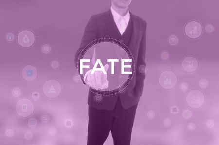 FATE - technology and business concept Stockfoto
