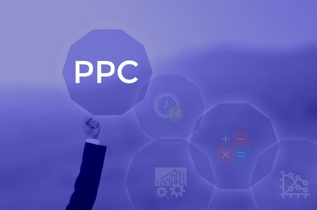 Pay Per Click - business concept Stock Photo