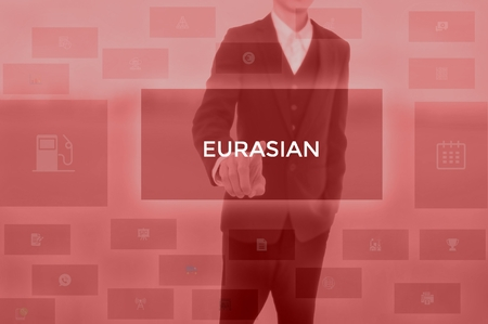 EURASIAN - technology and business concept