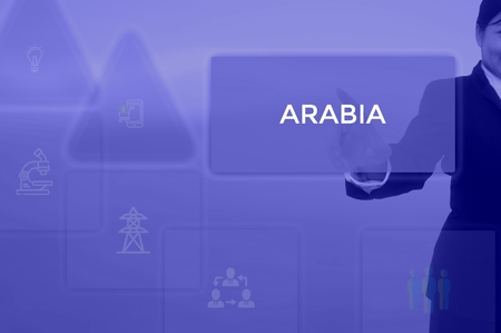 select ARABIA - technology and business concept