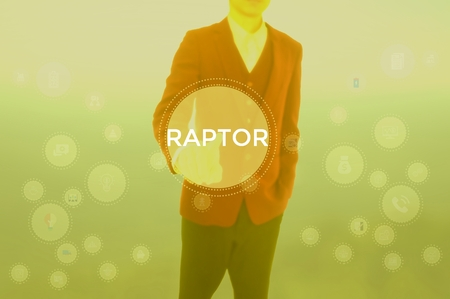 RAPTOR - technology and business concept Stock Photo