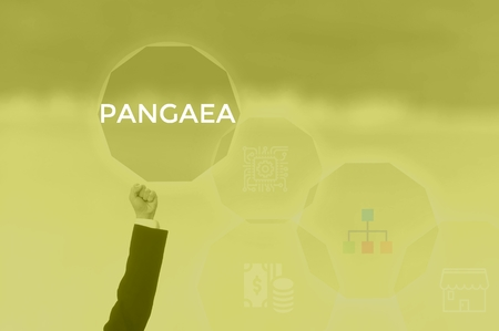 PANGAEA - technology and business concept Stock Photo