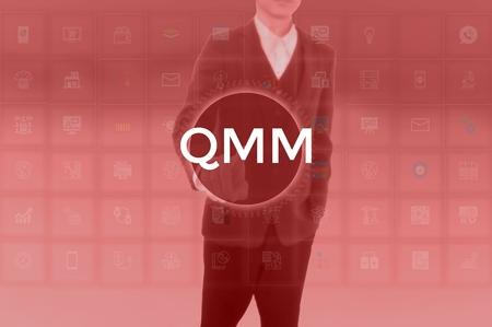 Quality Money Management - business concept