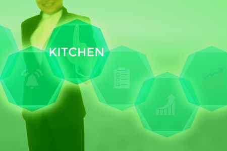KITCHEN - technology and business concept