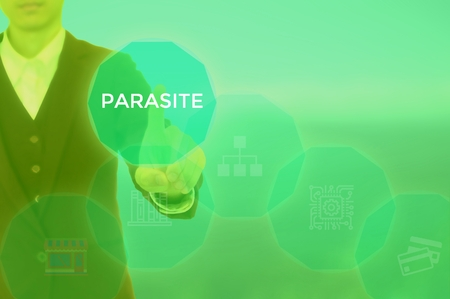 PARASITE - technology and business concept Stock Photo - 120252338