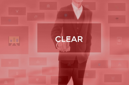 CLEAR - technology and business concept