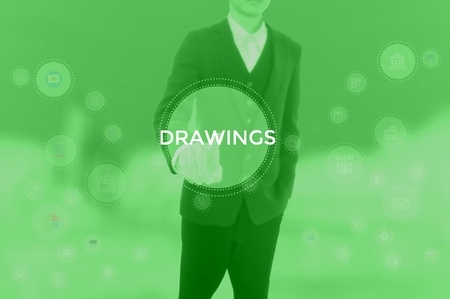 DRAWINGS - technology and business concept