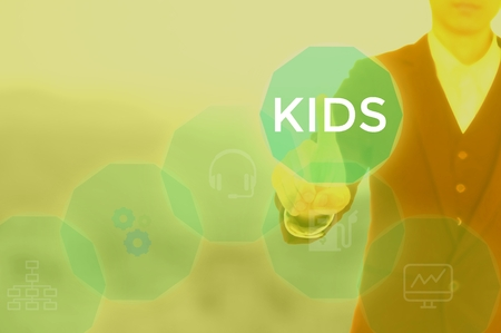 KIDS - technology and business concept