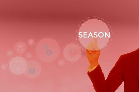 SEASON - technology and business concept Фото со стока