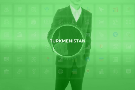 TURKMENISTAN - technology and business concept