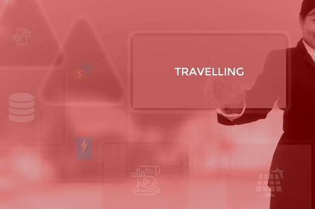 TRAVELLING - technology and business concept