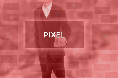 PIXEL - technology and business concept