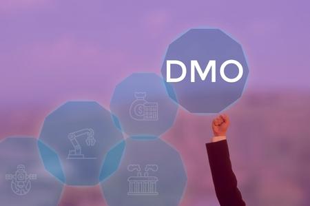 Distribution Management Office - business concept Фото со стока
