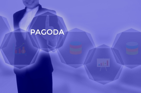 PAGODA - technology and business concept