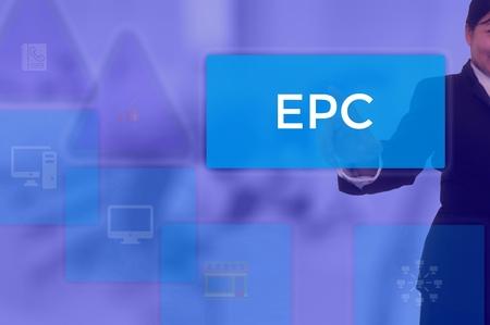 Earning Per Click - business concept Фото со стока