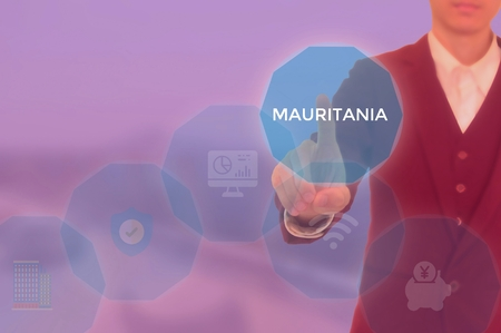 MAURITANIA - technology and business concept