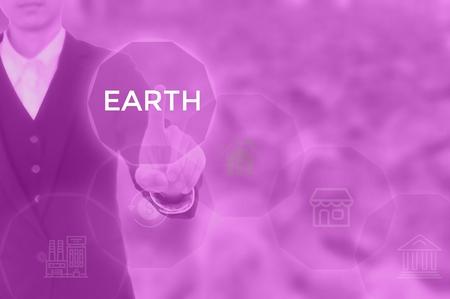 EARTH - technology and business concept Фото со стока
