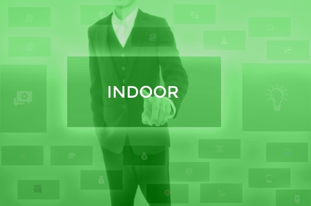 INDOOR - technology and business concept