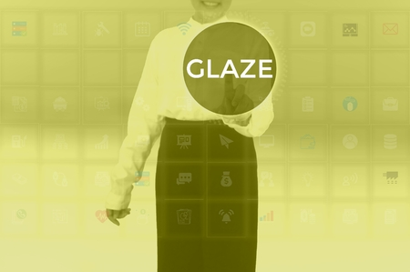 GLAZE - technology and business concept