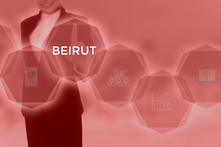 select BEIRUT - technology and business concept