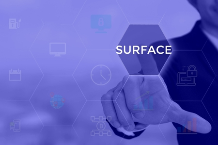 SURFACE - technology and business concept