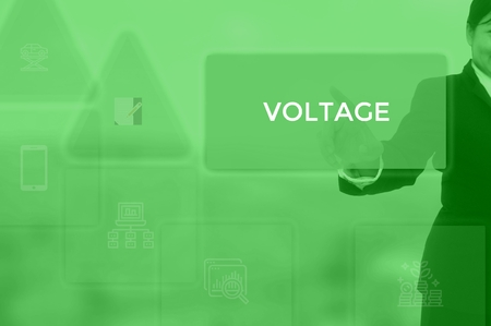 VOLTAGE - technology and business concept