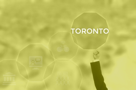 TORONTO - technology and business concept
