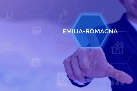EMILIA-ROMAGNA - technology and business concept