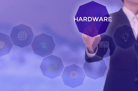 HARDWARE - technology and business concept