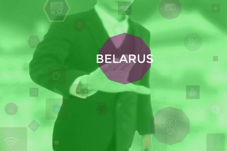 select BELARUS - technology and business concept