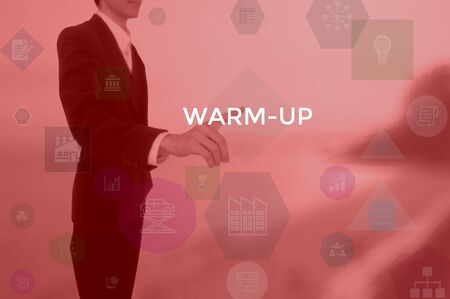 warm-up - technology and business concept
