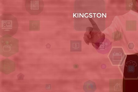 KINGSTON - technology and business concept