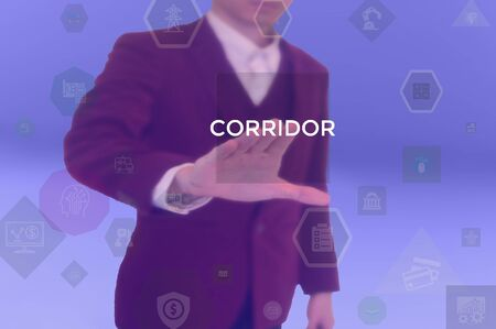 CORRIDOR - technology and business concept
