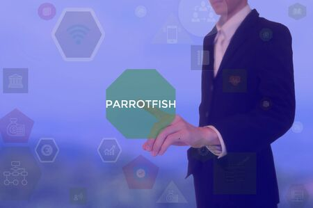 PARROTFISH - technology and business concept