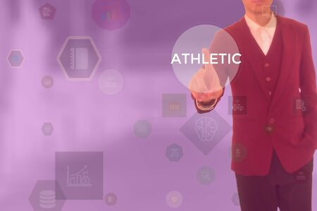 select ATHLETIC - technology and business concept