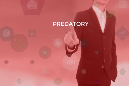 PREDATORY - technology and business concept