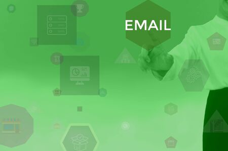 EMAIL - technology and business concept