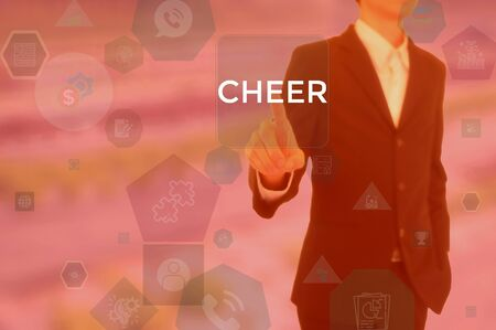 CHEER - technology and business concept