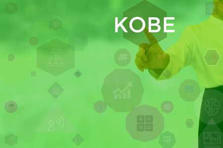 KOBE - technology and business concept