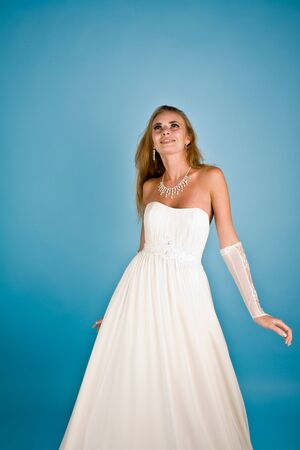 Picture of a smiling bride with jewelry Stock Photo - 6758406