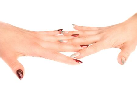 Woman's hands with manicure Stock Photo - 7428454