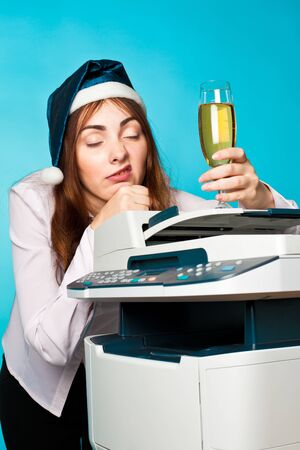 Picture of a new year at office Stock Photo - 10774912