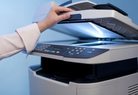 impresora: Mujer