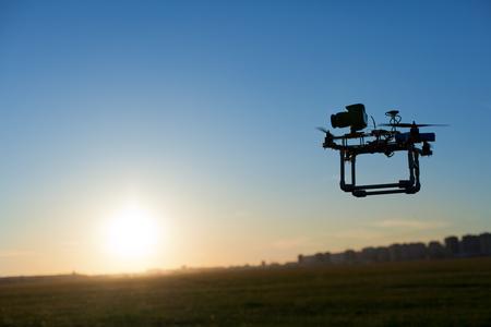 Photo of surveillance drone with onboard camera Reklamní fotografie